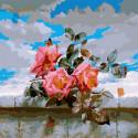 Розы (Антонов А.) Картина по номерам Molly KH1093