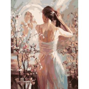 У зеркала Картина по номерам Molly KK0696