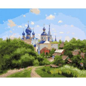 В окрестностях Суздаля (Милюков А.) Картина по номерам Molly KK0703