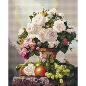 Букет с виноградом Алмазная вышивка мозаика Алмазное хобби AH5534