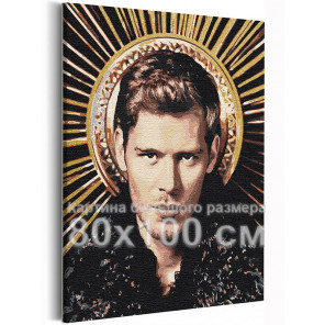 Клаус Дневники вампира 80х100 см Раскраска картина по номерам на холсте с металлической краской AAAA-RS366-80x100