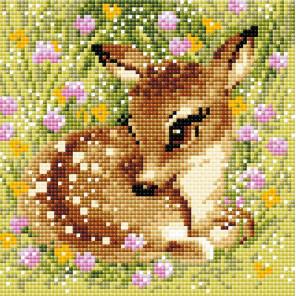 Маленький олень Алмазная вышивка мозаика АМ0062