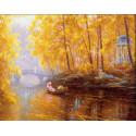 Осень Алмазная вышивка мозаика АЖ-1915