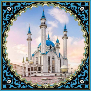Символ Казани Алмазная вышивка мозаика АЖ-1924