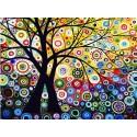 Райский сад Раскраска (картина) по номерам на холсте Molly