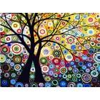 Райский сад Раскраска (картина) по номерам акриловыми красками на холсте
