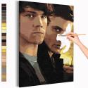 Сверхъестественное Раскраска картина по номерам на холсте AAAA-RS240