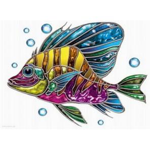 Рыба-ангел Алмазная вышивка (мозаика) Diy