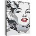 Мэрилин Монро / Знаменитости / Девушки 80х120 см Раскраска картина по номерам на холсте AAAA-RS347-80x120