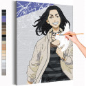 Кейске Баджи Токийские мстители Аниме Раскраска картина по номерам на холсте AAAA-ANI039
