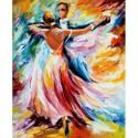 Танец красок Алмазная вышивка (мозаика) Гранни
