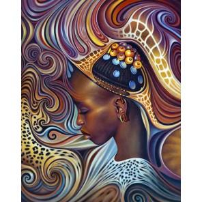 Африканский мотив Алмазная вышивка (мозаика) Гранни