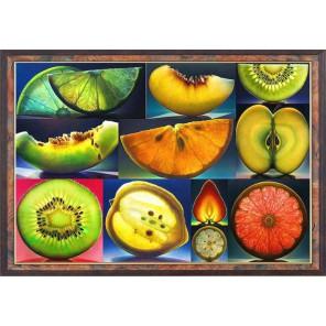Алмазные фрукты Алмазная вышивка (мозаика) Color Kit