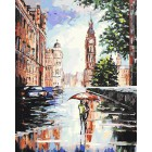 Лондонский мотив Раскраска ( картина ) по номерам акриловыми красками на холсте Белоснежка