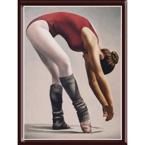 Балерина Раскраска по номерам акриловыми красками на холсте Color Kit