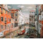 Венеция. Канал Сан Джованни Латерано Раскраска ( картина ) по номерам акриловыми красками на холсте Белоснежка