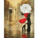 Случайная встреча Раскраска ( картина ) по номерам акриловыми красками на холсте Белоснежка