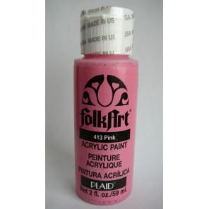 Розовые цвета Акриловая краска FolkArt Plaid
