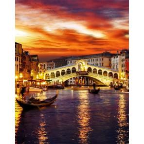 Ночная Венеция Алмазная вышивка (мозаика) Гранни