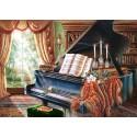 Старый рояль Алмазная вышивка (мозаика) Гранни