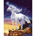 На краю мира Раскраска ( картина ) по номерам на холсте Белоснежка