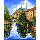 Шартрский собор Раскраска картина по номерам акриловыми красками Plaid