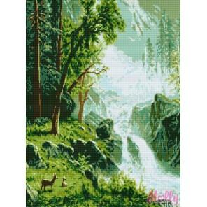 Реки Кавказа Алмазная вышивка (мозаика) Molly