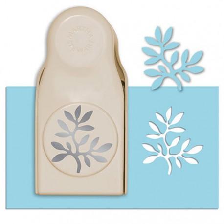 Веточка с листиками Фигурный дырокол для скрапбукинга Martha Stewart Марта Стюарт