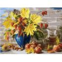 Сентябрь Раскраска ( картина ) по номерам акриловыми красками на холсте Белоснежка