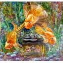 Подводное царство Алмазная частичная вышивка (мозаика) Color Kit