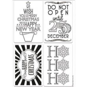 Подарочные бирки Create Christmas Штампы для скрапбукинга, кардмейкинга Docrafts