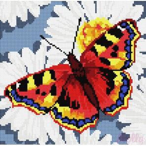 Бабочка Алмазная вышивка (мозаика) стразами Molly