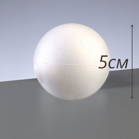 Шар 5 см Фигурка из пенопласта Efco