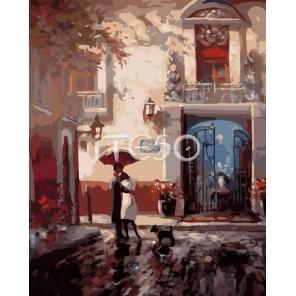 Встреча с любимым Раскраска ( картина ) по номерам акриловыми красками на холсте Iteso