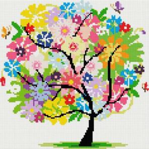 Древо Весны Алмазная вышивка (мозаика) Белоснежка