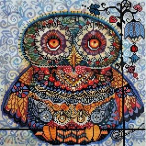 Волшебная сова Алмазная вышивка (мозаика) Белоснежка
