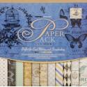 Синий сапфир Набор бумаги 30,5х30,5 см для скрапбукинга, кардмейкинга Белоснежка