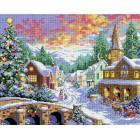 Рождественская ночь Алмазная вышивка (мозаика) Белоснежка | Картины алмазной мозаики купить