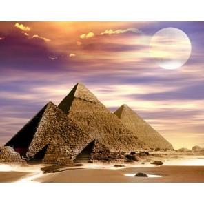 Египетские пирамиды Алмазная вышивка мозаика Гранни