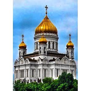 Храм Христа Спасителя Алмазная вышивка мозаика Гранни