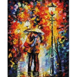 Поцелуй под дождем Алмазная вышивка (мозаика) Белоснежка | Картины алмазной мозаики купить