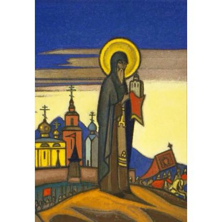 Святой Сергий Радонежский Алмазная вышивка мозаика Гранни