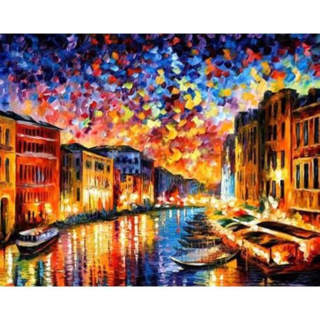 Гранд-Канал Венеция Алмазная вышивка мозаика Гранни