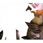 Область выкладки Венецианские маски Алмазная частичная вышивка мозаика на подрамнике Color Kit