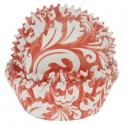 Красный узор Набор бумажных форм для кексов Dolce Arti