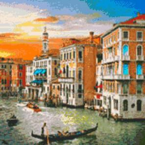 Венецианский рассвет Алмазная вышивка мозаика Iteso