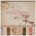 Романтика Набор бумаги 30,5х30,5 см для скрапбукинга, кардмейкинга Белоснежка