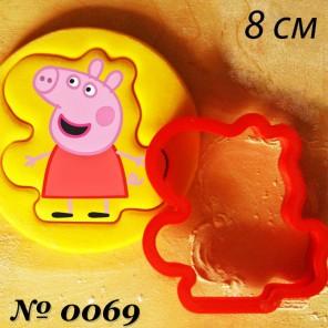 Свинка Пеппа Форма для вырезания печенья и пряников