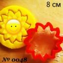 Солнышко Форма для вырезания печенья и пряников