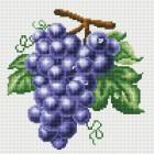Гроздь винограда Алмазная вышивка мозаика на подрамнике Белоснежка